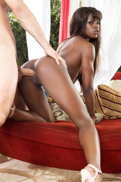 Model Ana Foxxx in Interracial Sexcapades 5