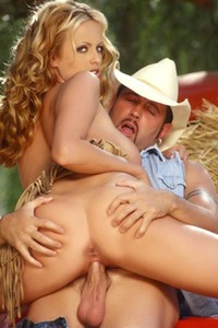 Model Stormy Daniels in Brad and Stormy