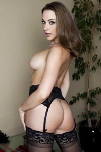 Model Chanel Preston in The Final Kiss