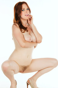 Model Penny Pax in The Silent Academy