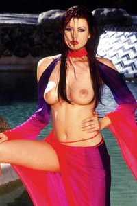 Model Juliet Cariaga in Pet Of The Year 2000