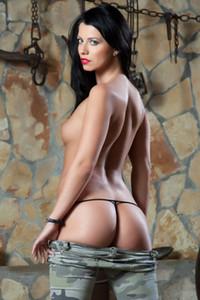 Model Vicky Love in Trembling Twilight