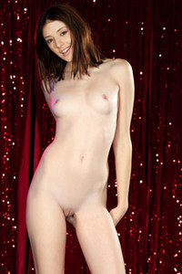 Model Lena Anderson in Staged Entertainment