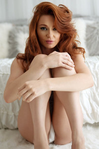 Model Lacy Lennon in The Red Woman