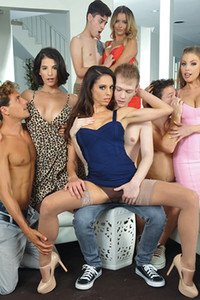 Model Britney Amber in Me and My Stepmom Had an Orgy 6